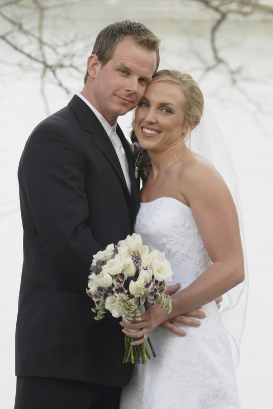 Mr. and Mrs. Perry Wedding Picture