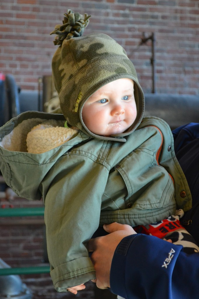 Baby Boy Winter Jacket and Hat