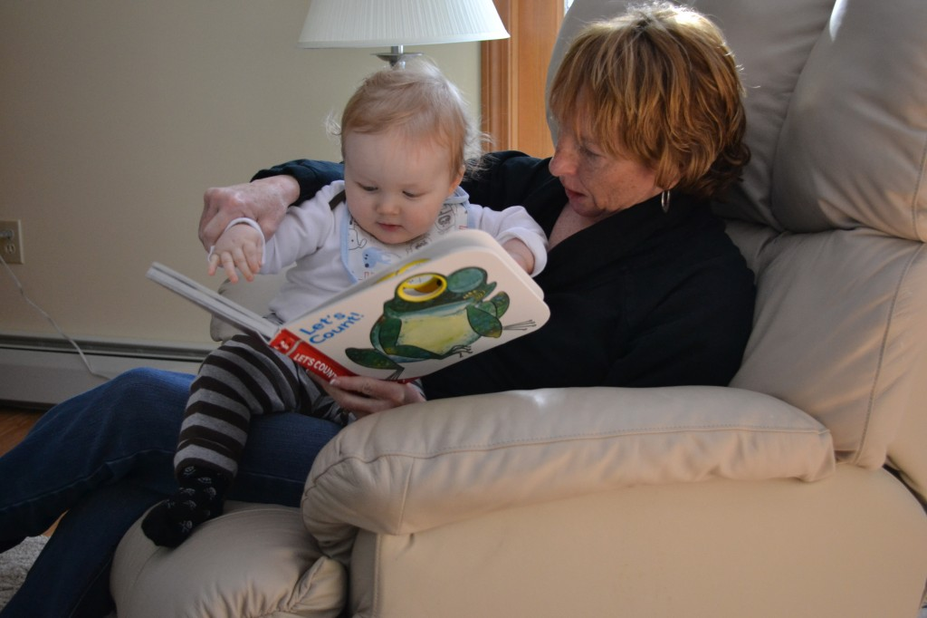 Reading Books with Grammy