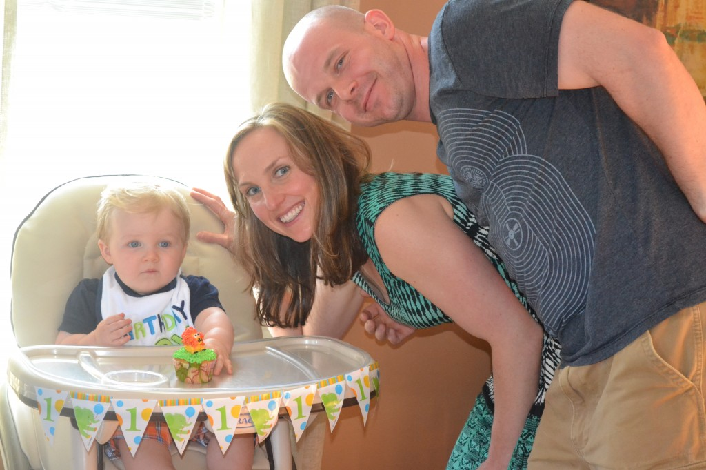 First Birthday Party Family Photo