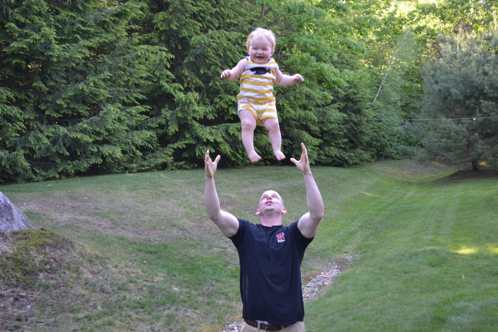Throwing Baby Boy in Air