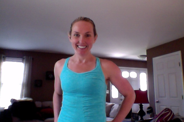 Seamless tank from Athleta