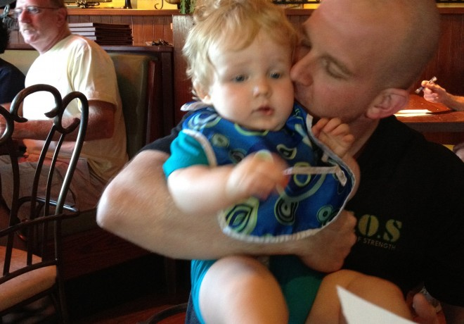 Wordless Weekend – Traveling With a Fussy Baby