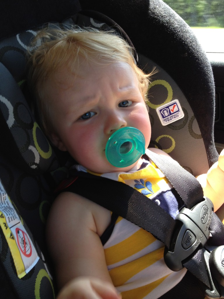 Traveling with a Fussy Baby in Car