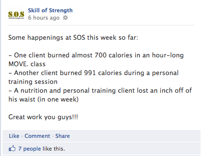 Skill of Strength Client Successes
