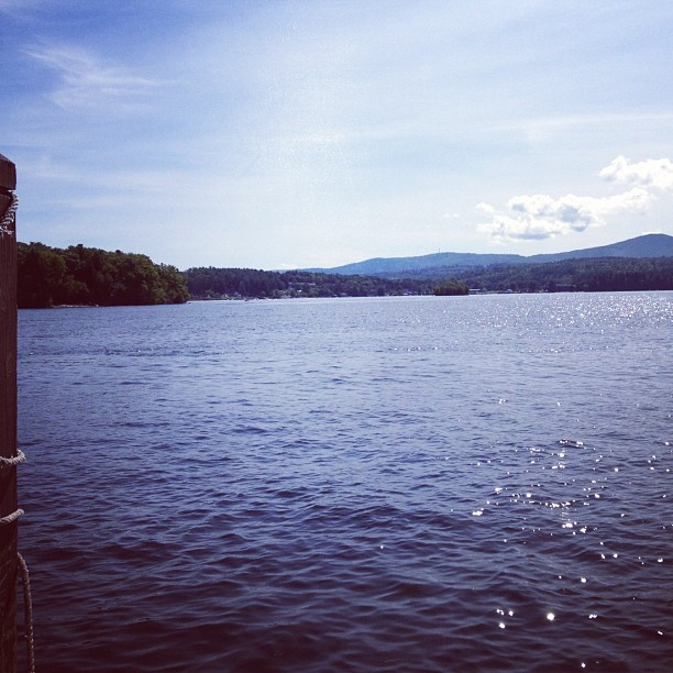 Lake Winne in NH