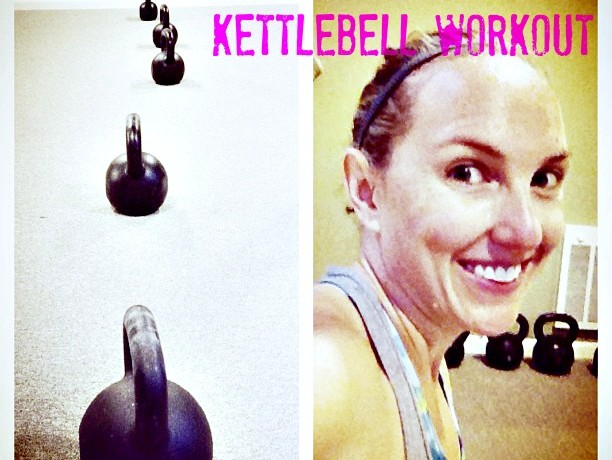 20 Minute Kettlebell Ladder Workout