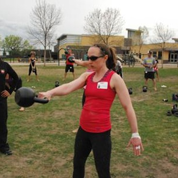 RKC Working on the Kettlebell Swing