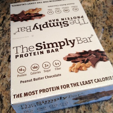 The Simply Bar is gluten and dairy free