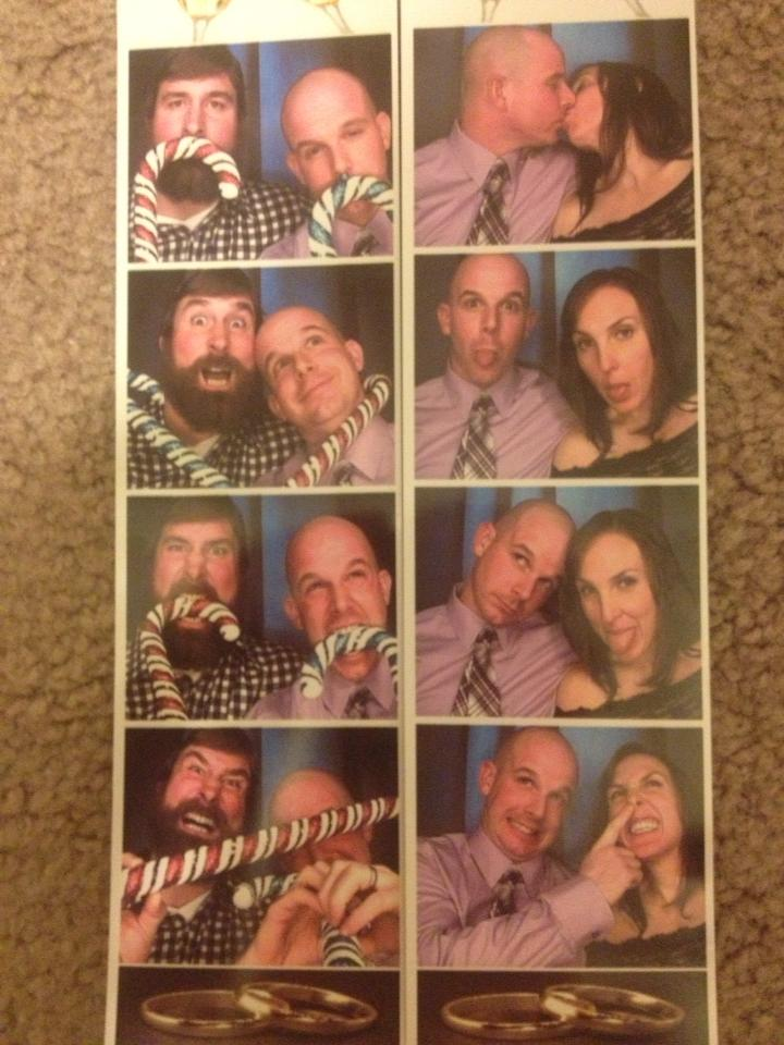 Silly Wedding Photo Booth Pictures