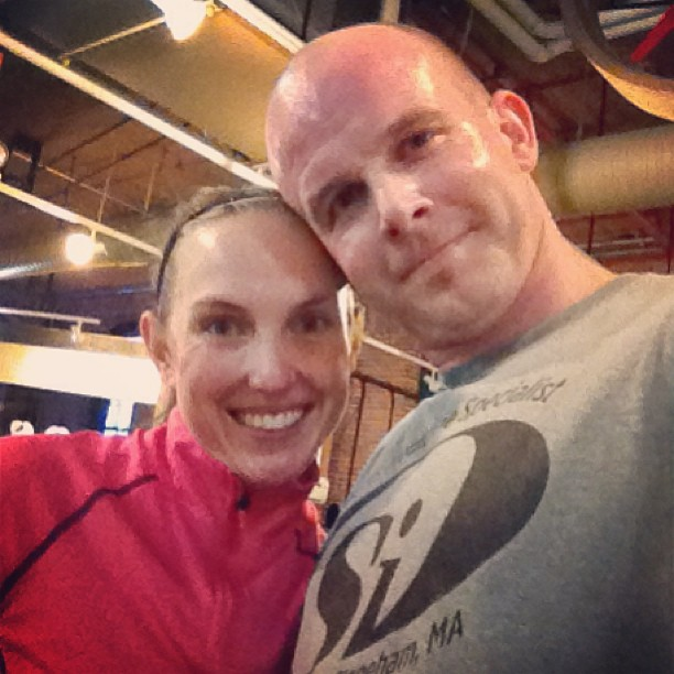 Spouses who train together stay together