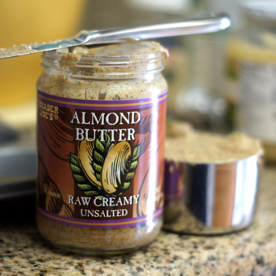 Almond Butter from Trader Joes