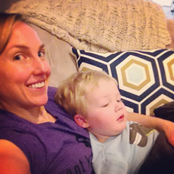 Snuggle Time with My Toddler When Sick