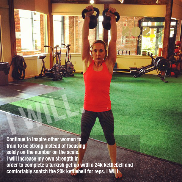 Strength and Kettlebell Training Goals for What's Beautiful