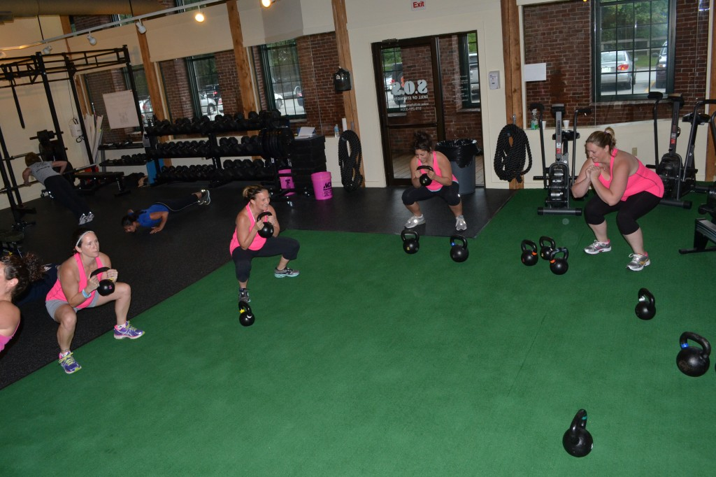 Whats Beautiful Squats with Kettlebells