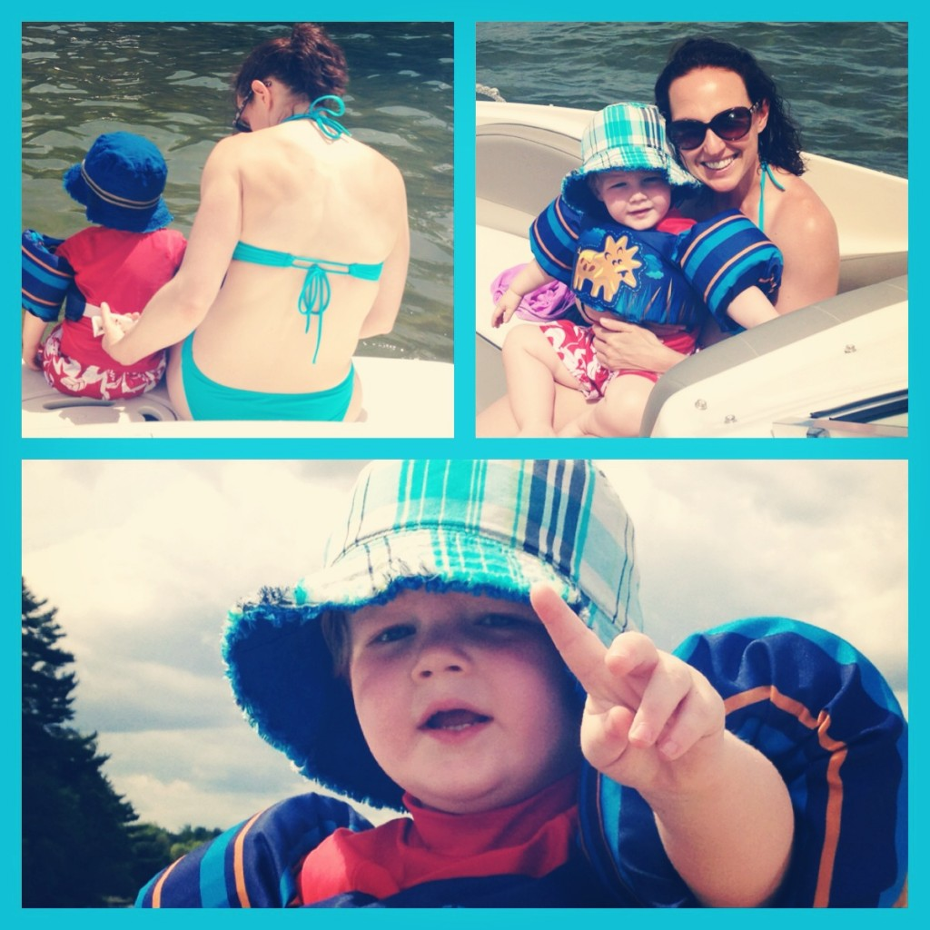 Boating with a Toddler