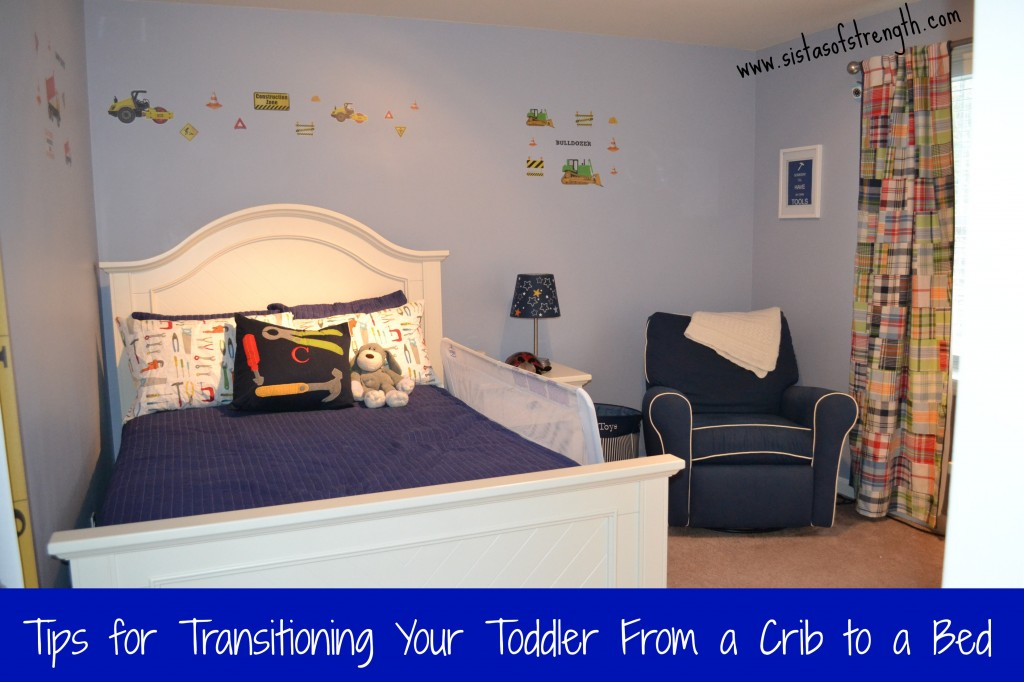 Transitioning toddler to full size bed