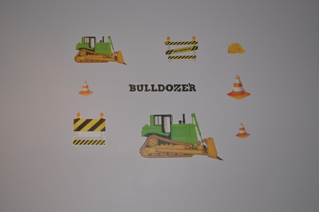 Construction Stickers for Wall
