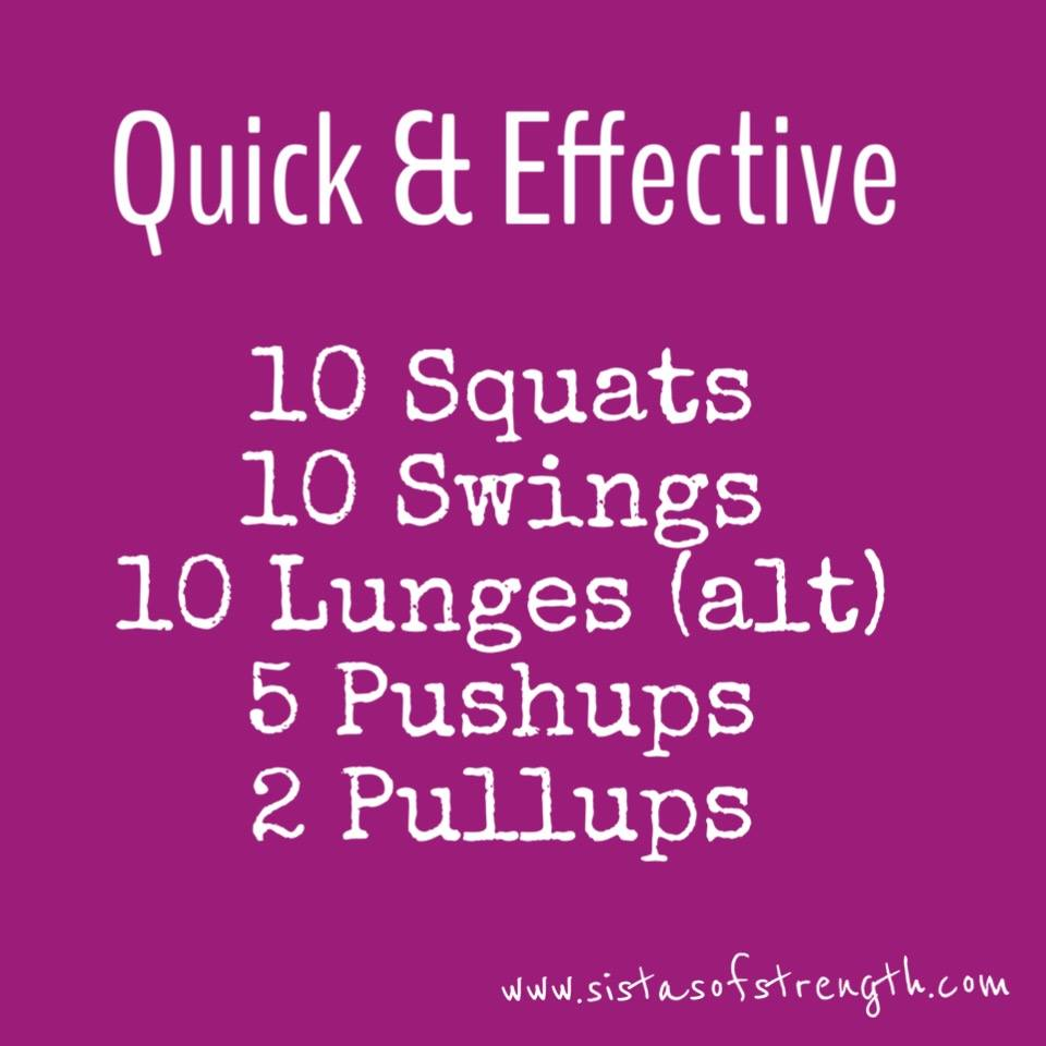 Quick and Effective Workout